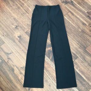 Lysse black straight leg stretch leggings - XS